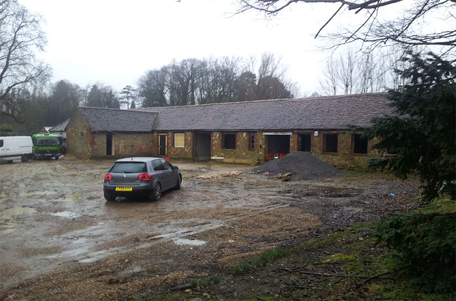 building conversion godstone