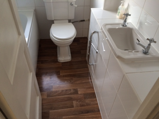 flat refurbishment bathroom
