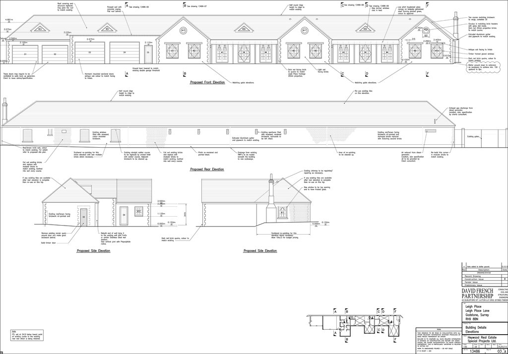 building conversion plans godstone